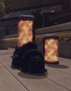 Citrine Mist Container and Citrine Mist Container Device (Downtown Metropolis Battlezone)