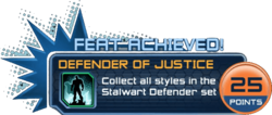 Feat - Defender of Justice