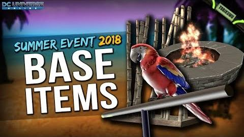 DCUO Summer Event 2018 Base Items