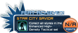Feat - Star City Savior