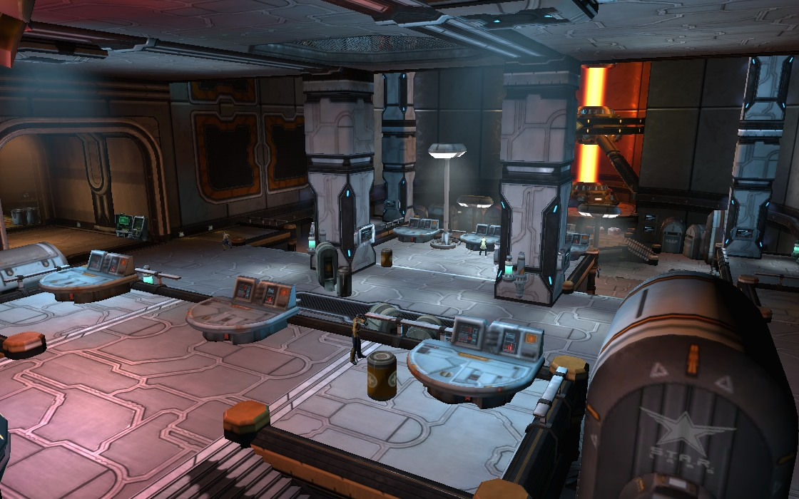 s t a r labs research facility little bohemia dc universe