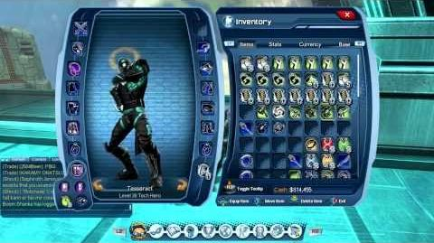DCUO - Temporal Weapon Pack - Odyssey