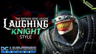 DCUO Laughing Knight Style (Inspired by The Batman Who Laughs) Dark Knights Time Capsules