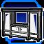 BI Cabinet III Blue