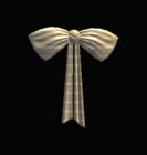White Silk Bow