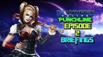 DC Universe Online Punchline Episode 2 Briefings