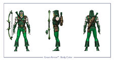 GreenArrow body color