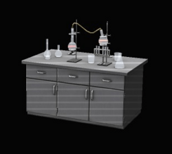 Lab Table and Equipment