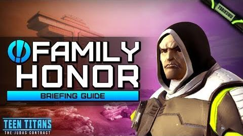 """DCUO Episode 32 """"Family Honor"""" Briefing Guide"""