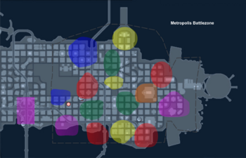 Map - Metropolis Battlezone