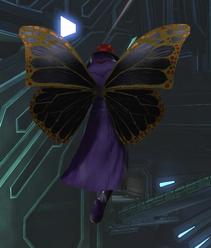 Butterfly Wings (style) rear view