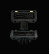 Batcave - Standing Computer Keyboard