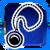 Icon Neck 013 Blue