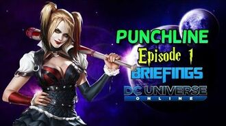 DC Universe Online Punchline Episode 1 Briefings