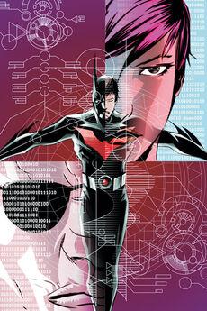 Batman Beyond Vol 4 4 Textless Cover