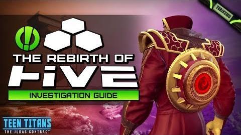 DCUO Episode 32 The Rebirth of H.I.V.E. Investigation Guide