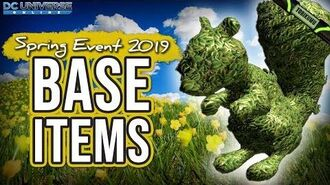 DCUO Spring Event 2019 Base Items