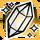 Icon Crystal II Gold