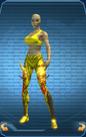LegsGoldTrigonicPantsGoldenGlowFemale