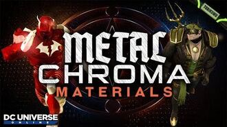 DCUO Metal Chroma Materials (Inspired by Dark Nights Metal) Dark Knights Time Capsule