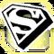 BI Superman Sign Light Goldenrod Yellow