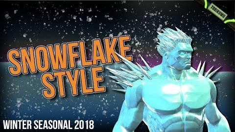 DCUO Winter Event 2018 Snowflake Style