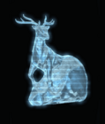 Ice Stag Sculpture