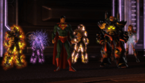 Luthor and Superman with Players (DWF)