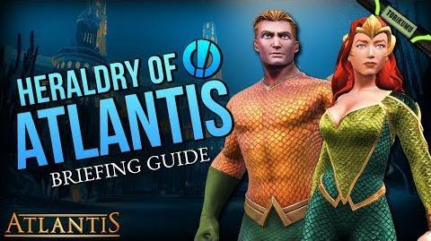 """DCUO Episode 33 """"Heraldry of Atlantis"""" Briefing Guide & Reward"""