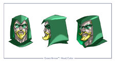 GreenArrow head color