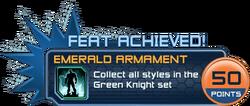 Feat - Emerald Armament