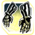 Icon Hands 008 Light Goldenrod Yellow