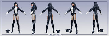 DC ren icnChar Zatanna multi
