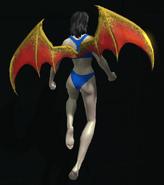 Hellborn Wings hovering