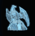 Ice Eagle Sculpture