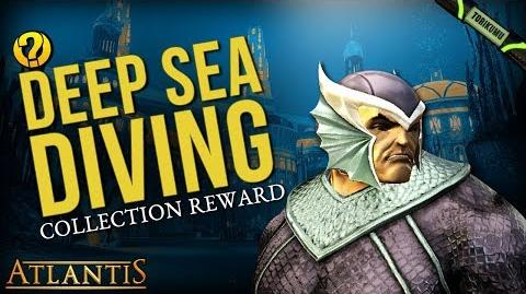 "DCUO Episode 33 ""Deep Sea Diving"" Collection - Drift Guard Helmet Atlantis"