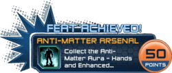 Feat - Anti-Matter Arsenal