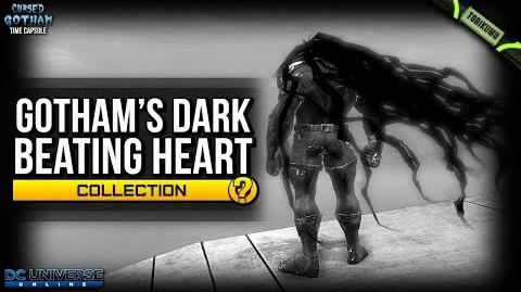 "DCUO ""Gotham's Dark Beating Heart"" Collection - Tattered Cloak of Corruption"