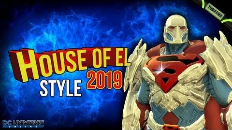DCUO House of El 2019 Retextured Style