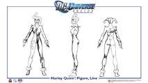 Harley Quinn body line
