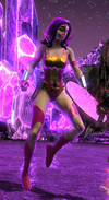 Impassioned Wonder Woman