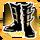 Icon Feet 004 Gold