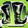 Icon Feet 009 Green