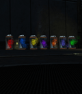 Blackest Night - Mist Containers