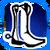 Icon Feet 017 Blue