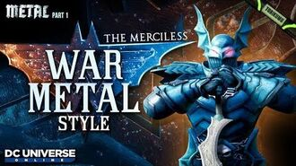 DCUO Episode 35 War-Metal Style (Inspired by The Merciless) DC Universe Online - Metal Part 1