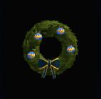 Wonder Woman Holiday Wreath