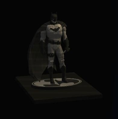 Batman B W By John Romita Jr Statue Shelf Dc Universe Online
