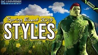 DCUO Spring Event 2019 Botanical Style and Rainbow Butterfly Wings