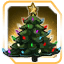 BI Holiday Tree Gold